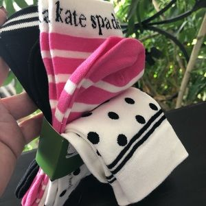 3 pairs Kate spade socks
